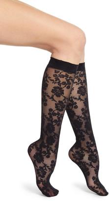 Oroblu Primrose Lacy Knee High Socks