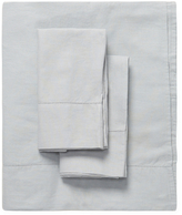 Melange Home Linen-Blend Classic Hemstitch Sheet Set