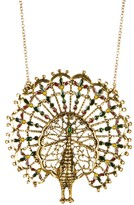 Amrita Singh Peacock Pendant Necklace
