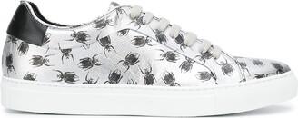 Paul Smith Low Top Bug Print Sneakers