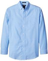 Nautica Husky Long Sleeve Oxford Shirt Boy's Long Sleeve Pullover