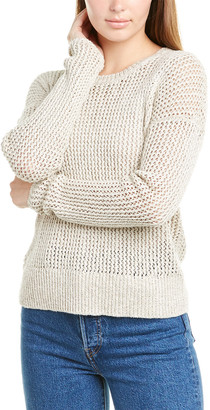 James Perse Open-Stitch Sweater