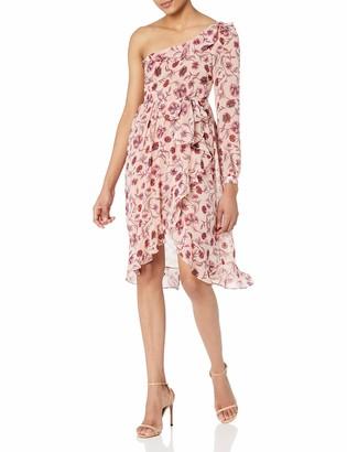 For Love & Lemons Women's Agnes One Shoulder Dress