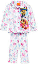 AME 2-Pc. Paw Patrol Pups In Snow Pajama Set, Toddler Girls (2T-4T)