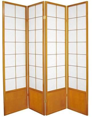 Oriental Furniture 6 ft. Tall Zen Shoji Screen - - 4 Panels
