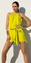 Julian Chang Stella Tied Waistband Dress