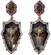 Sevan Biçakci Women's Owl Intaglio Double-Drop Earrings