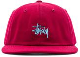 Stussy Basic Logo Twill Cap