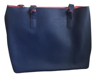 Stefanel Blue Synthetic Handbags