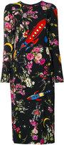 Dolce & Gabbana rocket print dress