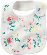 Carter's Baby Girl Girly Pattern Bib