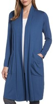 Eileen Fisher Women's Long Jersey Cardigan