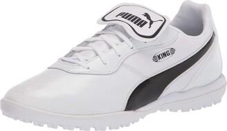 Puma Unisex King Soccer Shoe White Black White Numeric_14 US Men