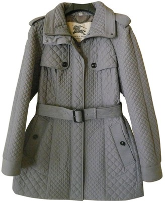 Burberry Grey Trench Coat for Women