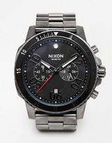 Nixon Ranger Chronograph Watch - Black