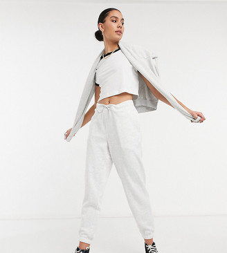 Topshop Tall sweatpants in gray