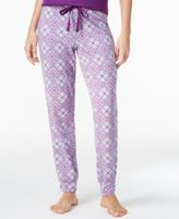 Alfani Printed Woven Pajama Jogger Pants, Only at Macy's