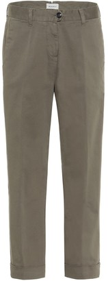 Woolrich Stretch-cotton mid-rise pants