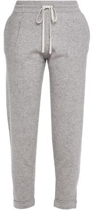Duffy Cashmere And Linen-blend Track Pants