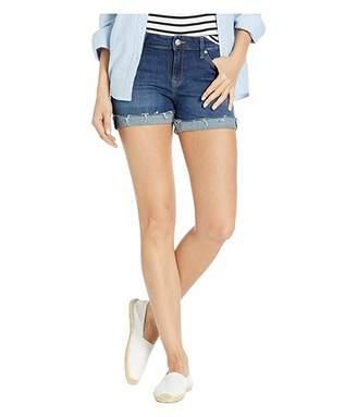Mavi Jeans Vanna Relaxed Shorts in Deep Blue Tribeca