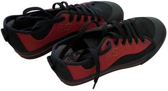 Adidas X Raf Simons Spirit Multicolour Cloth Trainers