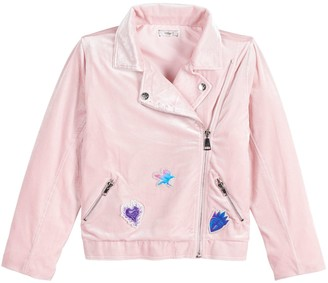 D Signed Disney's D-Signed Descendants Girls 7-16 Moto Jacket