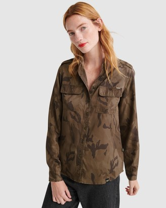 Superdry Harlowe Military Shirt
