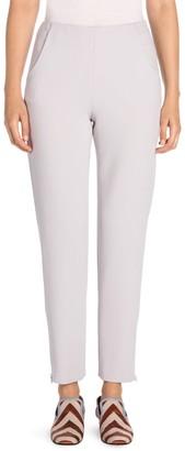 Giorgio Armani Wide-Leg Straight-Leg Slim Pocket Ankle Pants