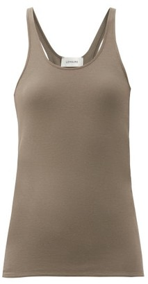 Lemaire Racerback Cotton-jersey Tank Top - Mid Grey
