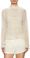 Tracy Reese Women's Beaded Victorian Blouse