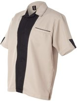 Hilton Monterey Bowling Shirt - HP2245 - XL - Khaki/Black