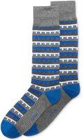 Alfani Men's Building-Stripe Socks, Created for Macy's