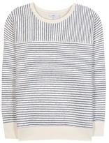 Closed Striped Cotton-blend Sweatshirt