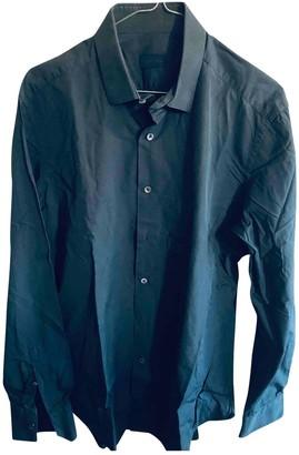 Lanvin Navy Cotton Shirts