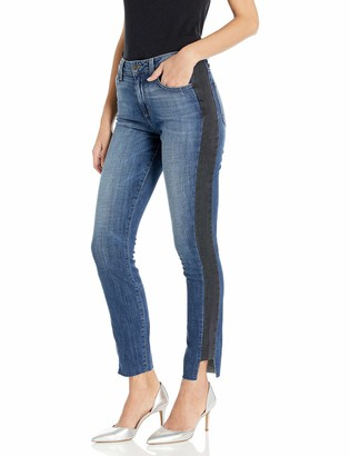Siwy Women's Janine High-Waisted Paneled Straight in Exclusive 31