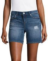 Jessica Simpson Maxwell Distressed Denim Shorts