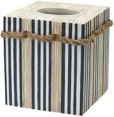 India Ink Beach Cottage Tissue Box Cover