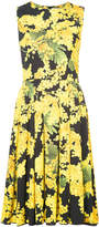 Carolina Herrera Mimosa sleeveless print dress