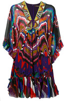 Roberto Cavalli ruffled shift dress - women - Silk - 38