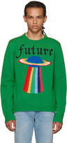 Gucci Green Intarsia future Sweater