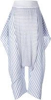 Stella McCartney striped Sonia trousers - women - Cotton/Elastodiene/Polyamide - 38