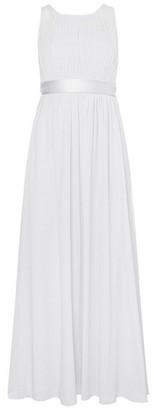 Dorothy Perkins Womens Showcase Petite Dove Grey 'Natalie' Maxi Dress, Grey