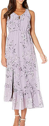 Kensie Violet Blooms Maxi Dress