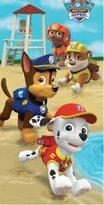 Nickelodeon Paw Patrol Beach Towel For Kids - Paw Patrol Puppy Run Theme in