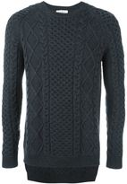 Ports 1961 cable knit jumper - men - Wool - M