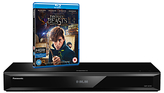 Panasonic DMP-UB700EBK Smart 4K UHD Blu-Ray/DVD Player with Built-in Wi-Fi, High Resolution Audio & Miracast, Ultra HD Premium Certified