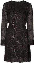 ADAM by Adam Lippes lurex velvet long sleeve fitted dress