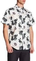 Ezekiel Floral Button-down Short Sleeve Shirt