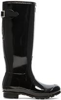 Hunter Back Adjustable Gloss Rain Boot