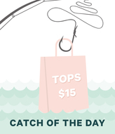 Unique Vintage Catch of the Day - Tops